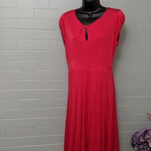 Boden size 8 red dress